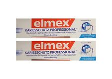 2x ELMEX Kariesschutz Professional Zahnpasta 75ml PZN:10302593 Zahncreme