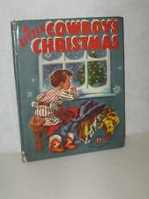 """A Little Cowboy's Christmas"" Wonder Books 1951"