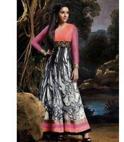 new pakistani indian anarkali dress dupatta churidaar stitched Khaadi Limelight