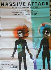 Massive Attack - Affiche Poster 70x100 cm - Splitting the atom Tour