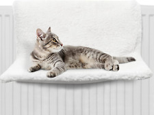 FurDreams Cat Radiator Bed – Hammock Style Hanging Pet Bed | Heated Calming Fluf