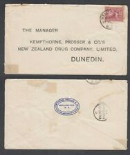 NEW ZEALAND 1898 2d. PICTORIAL ON COVER (ID:34/D60706)