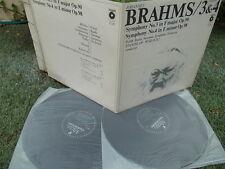 BRAHMS: Symphonies n°3 & 4 > Polish Radio SO Wislocki / Polskie Nagrania stereo