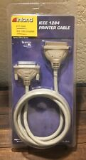 6Ft Inland IEEE1284 25-Pin Male to Parallel Extension Cable