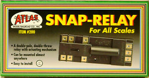 NEW All Scales Atlas 200 Snap Relay