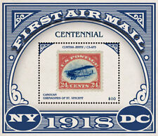 Canouan Grenadines of St. Vincent  2018 first airmail centennary I201805