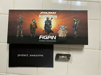 FiGPiN LE 2900 The Mandalorian Deluxe Box Set 5 Logo Pin Limited On Hand!!!
