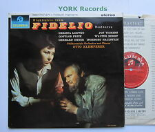 SAX 2547 - BEETHOVEN - Fidelio highlights KLEMPERER *RED SEMI* - Ex LP Record