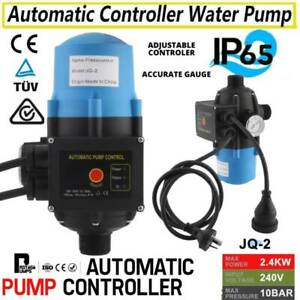 PRESALE Automatic Water Pump Controller Pressure Electric Switch Adjustable AU