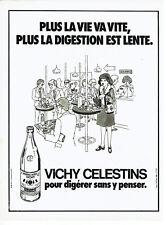 Other Breweriana Publicité Advertising 1981 Eau Minerale Naturelle Vichy Célestins Breweriana, Beer