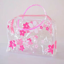 Clear Toiletry Cosmetic Transparent Set PVC Wash Bags Travel Makeup Bag Pouch