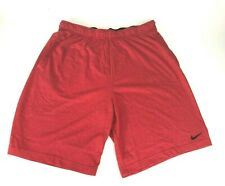 Nike Mens Big & Tall Low Rise Workout Shorts - Red- New