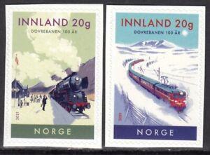 NORWAY 2021 LOCOMOTIVES DOVREBANEN LOCOMOTIVE TRAIN RAILWAYS S/A [#2101]