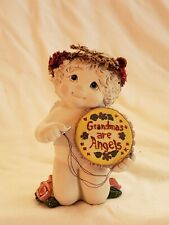 Dreamsicles Grandmas Are Angels 20114 Cherub Angel Figurine 2002