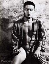 1960's Vintage Japan MALE SEMI NUDE Asian Male Photo Fine Art 16x20 TAMOTSU YATO