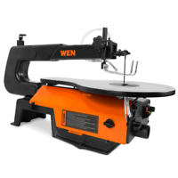 WEN Scroll Saw 16 in. Electric Keyless Blade Change Variable Speed Corded
