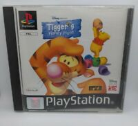 Disney TIGGER'S HONEY HUNT - Sony PS1 playstation 1 Game PAL
