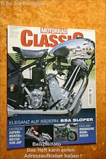 Motorrad Classic 6/02 Bsa Sloper Mondial 175 TV