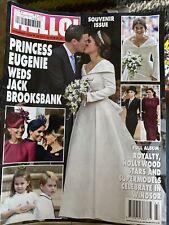 Hello! Magazine #1555 Oct. 2018 *Princess Eugenie Weds Jack Brooksbank *