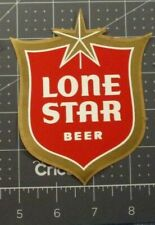 """Large  Lone Star Light Beer Original Style Decal 15"""""""