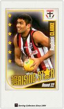 2006 Herald Sun AFL Trading Cards Risingstar Nominee Card RSN22 Raphael Clarke