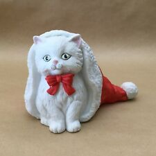 "Vintage San Fransisco Music Box Company Cat ""Have Yourself A Merry Little Xmas�"