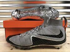 Nike Vapor Untouchable Oregon Ducks Football Cleats PE Grey Black Green SZ 14