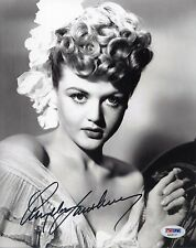 ANGELA LANSBURY Signed 8x10 Photo  PSA/DNA#:AA26117