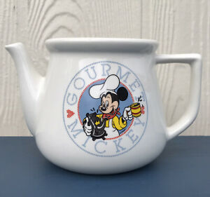 Gourmet Mickey Mouse Teapot Treasure Craft Made in USA! Collectible (no lid)