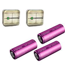 3 x Efest IMR 26650 Lithium Ionen Akku 50A 4200mAh lose 3,7 V + 2 x Akku Box