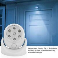 Drahtloser Bewegungsmelder Auto Sensor 7 LED Lampe Batteriebetrieben E3L7
