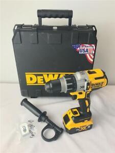 "*DEWALT 20V Max XR 1/2"" Cordless Hammerdrill/Drill Driver DCD996 +Battery DCB205"