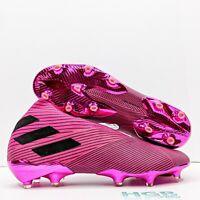 Adidas Nemeziz 19 + FG Men's Soccer Cleats Training Running Pink Black A-F34403