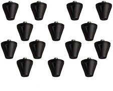 "3/4"" Plastic Football Replacement Cleats 14 Pack with Tool Fits Nike, UA, Adidas"