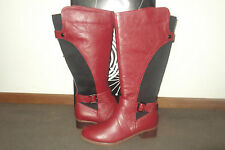 BRAND NEW WOMENS LADIES TS 14+ RIDING STYLE  BUCKLE UP  BOOTS SZ 42- 11