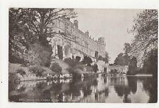 Warwick Castle From The Island Vintage Postcard  162a
