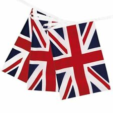 "Union Jack 12"" x 8"" Rectangle Royal Wedding Great Britain Bunting Party Flags"