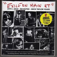 Rolling Stones     Exile  ON Main St     12 CD's & 2  DVD  Box Set