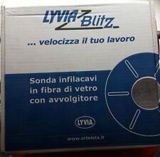 SONDA LYVIA IN FIBRA DI VETRO CON AVVOLGITORE DIAM. 3MM LUNGA 30MT COD. 101830