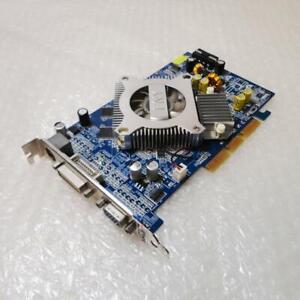 256mb PNY nVidia GeForce 6600 G606600ABD25L+0C DDR AGP VGA DVI Graphics Card