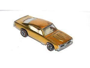 1968 Hot Wheels Redline Custom Barracuda PRETTY US GOLD 2 COOL HYBRID YR1! DB