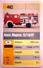 Cuarteto tarjeta individuales-Iveco Magirus Tlf 16/25 - art.nr.468