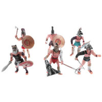 6PCs Military Playset Plastic Toy Soldiers Ancient Roman Army Men Figures