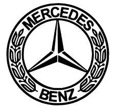 Mercedes Badge vinyl car Decal / Sticker