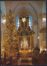 Schöne AK Hamburg St. Michaeliskirche zur Weihnachtszeit, Altar, Christbaum