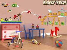 Angry Birds Large Wall Decor Vinyl Sticker Decal Removable Nursery Art Mural boy