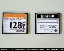 Kingston CF/128 128MB Genuine Compact Flash CF Memory Card for Camera with Case