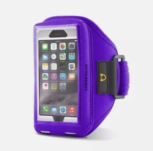 Gear Beast Sports Armband For iPhone X, 8, 7, 6S, 6, GALAXY S7 S6 Edge PURPLE