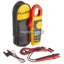 Fluke 325 40400a Acdc 600v Acdc Trms Clamp Meter With Frequencytemperature