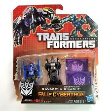 Transformers Generations Fall of Cybertron Decepticon Rumble & Ravage Figure NEW